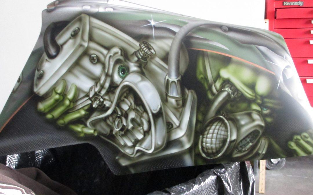Custom Painted Banshee Process